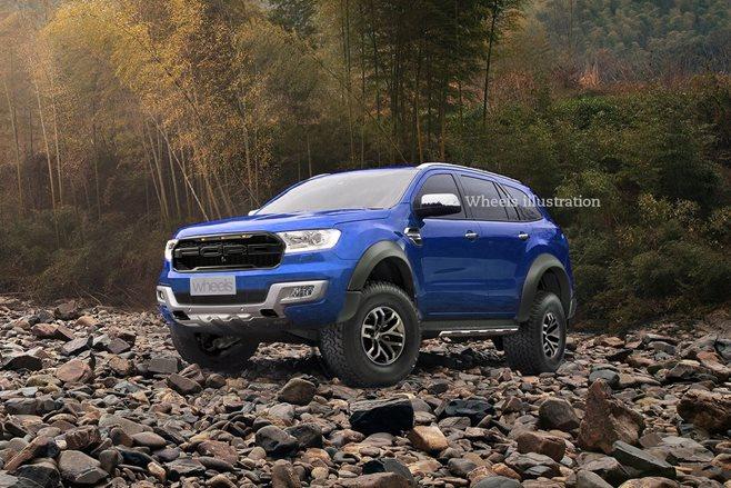 2018 Ford Everest Raptor Imagined Wheels