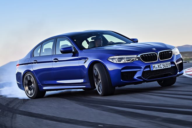 2018 BMW M5 revealed at last – 441kW, 750Nm and 0-100km/h in 3.4 seconds