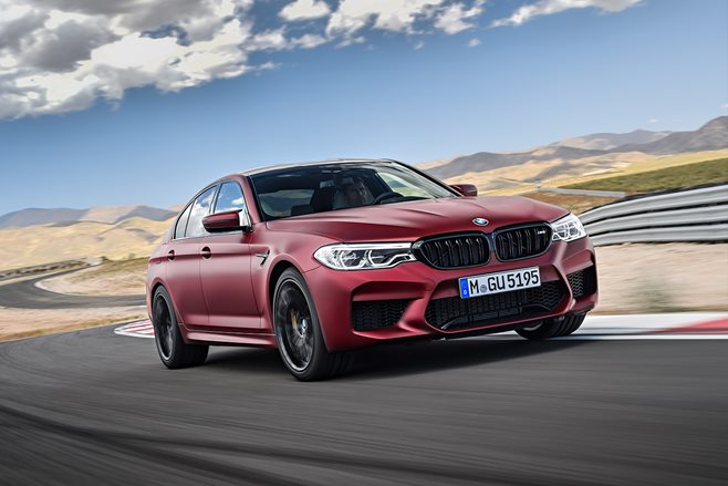 2018 BMW M5 fast facts