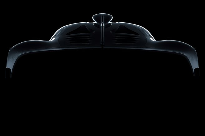 2018 Mercedes AMG Project One silhouette_main