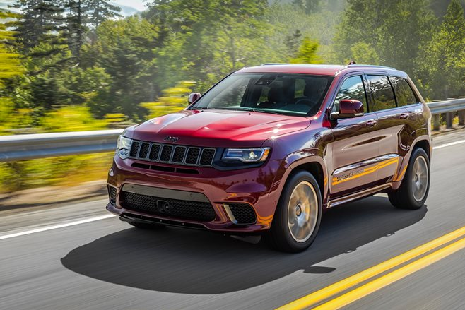 The numbers behind the Jeep Grand Cherokee SRT Trackhawk will warp your sense of reality
