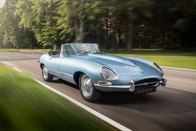 Wheels Interview: Jaguar's man behind the electric E-Type