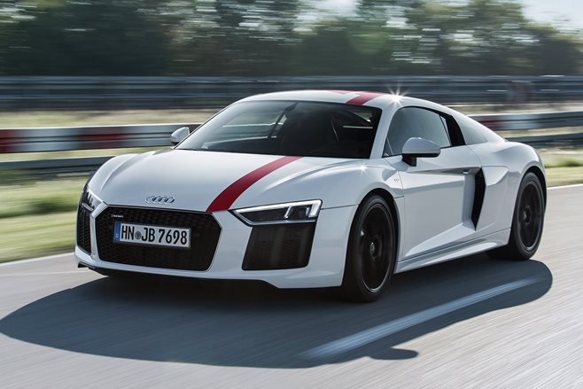 2017 Frankfurt Motor Show: Rear-drive Audi R8 RWS now a reality