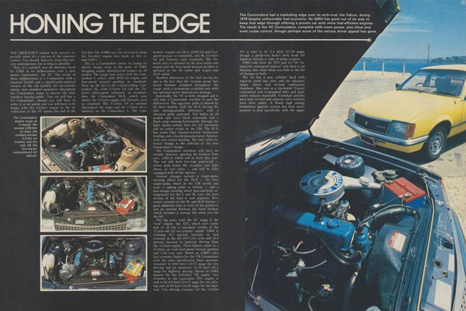 1980 Holden Commodore: Honing the edge