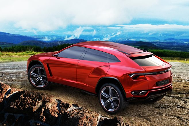 2018 Lamborghini Urus SUV set for December debut