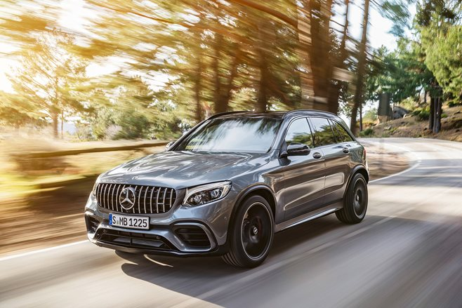 2018 Mercedes AMG GLC 63 S Front