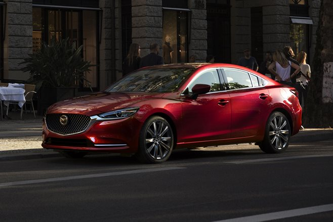 2017 LA Motor Show Re-engineered Mazda 6 moves upmarket