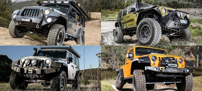 Top 5 Custom Jeep Wranglers
