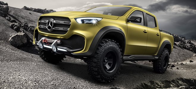 Mercedes-Benz unveils X-Class Pick-up