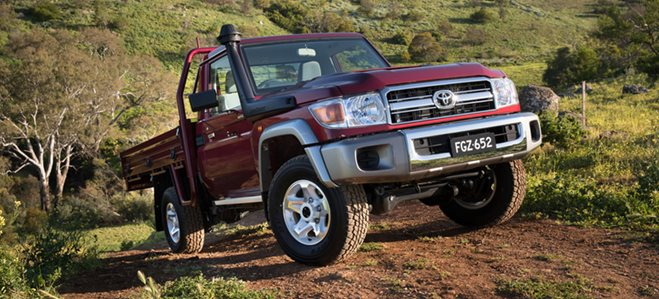 Toyota Landcruiser 70 Series' upgraded