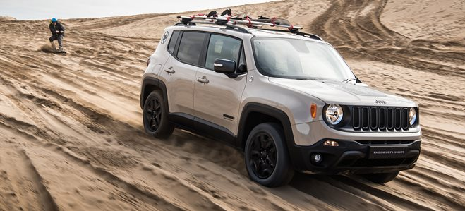 2017 Jeep Renegade Desert Hawk, Limited Edition