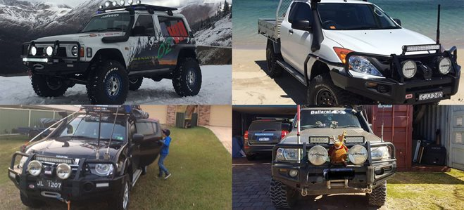 Readers' 4X4s: MWB Patrol, BT-50, Land Cruiser Prado