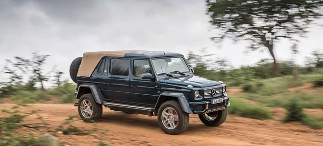 Mercedes Maybach G650 Landaulet 1