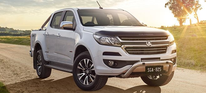 2018 Holden Colorado Storm front