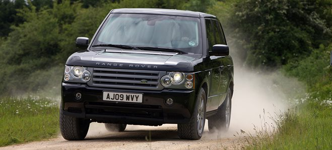 Armoured Range Rover main