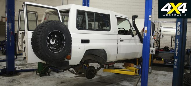 1985 toyota land cruiser 4x4 shed