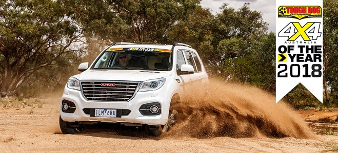 Haval H9 Ultra 4X4 of the Year 2018
