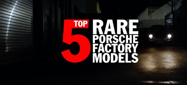 Porsche's top five rarest models