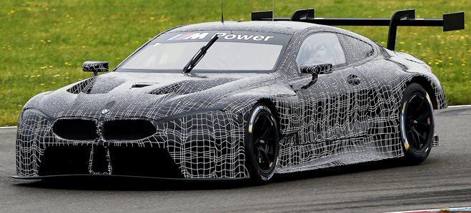 BMW M8 GTE unveiled main