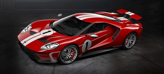 Le Mans limited edition Ford GT