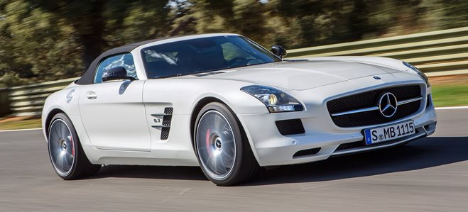 Mercedes Benz SLS AMG GT main