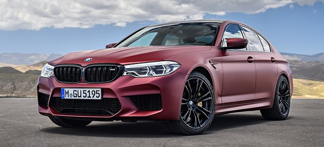 2018 BMW M5 First Edition main