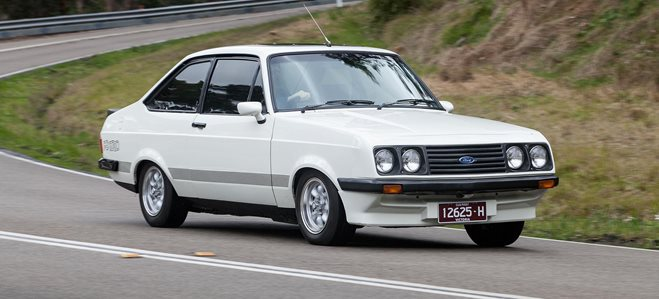 Morley 1979 Ford Escort RS2000 feature