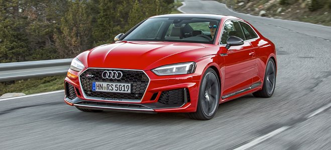Audi RS5 cover LONG