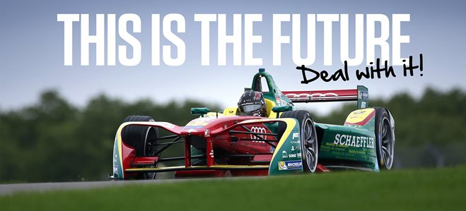 Formula E is the future whether you like it or not