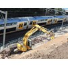 A Mulgoa Excavations Komatsu machine works on Sydney's ETTT rail expansion project.