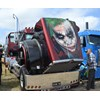 Kenworth truck with Joker artwork