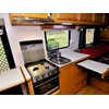 Trakmaster Nullarbor caravan interior kitchen and over