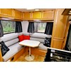 Trakmaster Nullarbor caravan lounge and dinette
