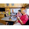 Everner E900 Series custom caravan dinette