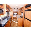 Millard Pinnacle caravan kitchen, sink and dinette