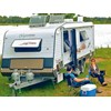 Aussie Wide Caravans Bunderra set up outside