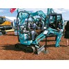 Kobelco showcased their latest SK12SR model