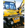 The JCB will be used on work for utility companies in Gippsland