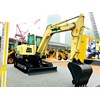 SDLG unveils concept electric compact excavator at bauma China 2018 2