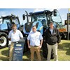 New Holland team Darryl Jeffery Charles Hill and Chris Eames