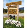 cow shed sign