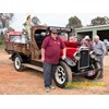 Jeff Johnston carted his 1929 Dodge from Melbourne to Tarcutta behind his Volvo.
