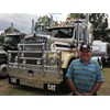 Joe Muscat had number two of the original Kenworth Gold Nuggets at the show.