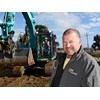 Stephen Toose and Kobelco excavator