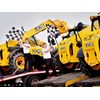 Workers seeing off JCB telehandlers