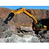 JCB JS200LC long carriage excavator with rock hammer