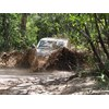 Nissan Patrol 4x4 in mud
