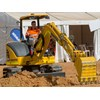PC45MR mini excavator is ideal for the smaller jobs