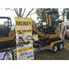 And WesTrac had the Cat 301.7D CR mini excavator with trailer and buckets for $180 a week.