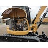 The body, doors and covers of the Cat 305E2 excavator are all made of steel.